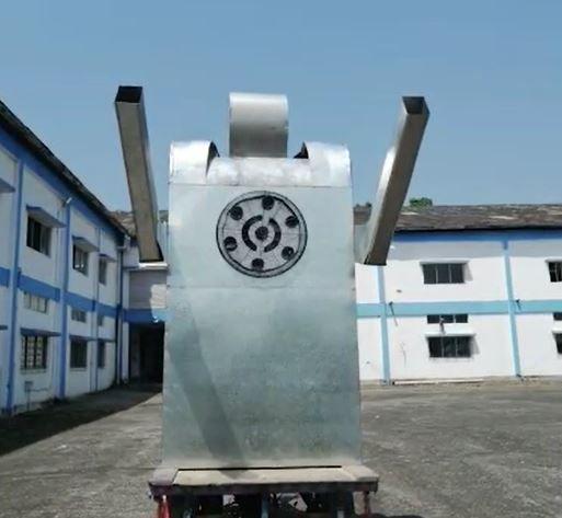 Airlens Minus Corona robot (Image Credit:PerSapien Innovations)