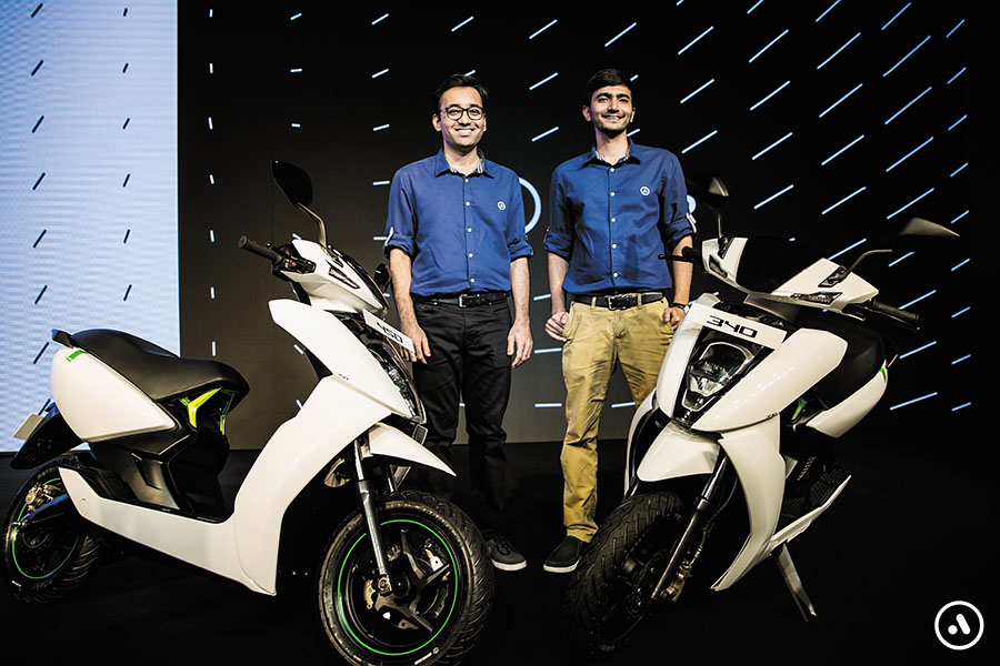 Tarun Mehta and Swapnil Jain, co-founders and CEO and CTO, respectively. Image courtesy: Ather India