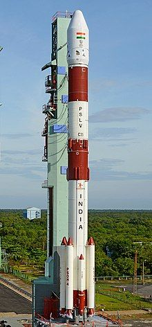 PSLV: A medium lift launch system. Launch site: Sriharikota, an island in the Bay of Bengal