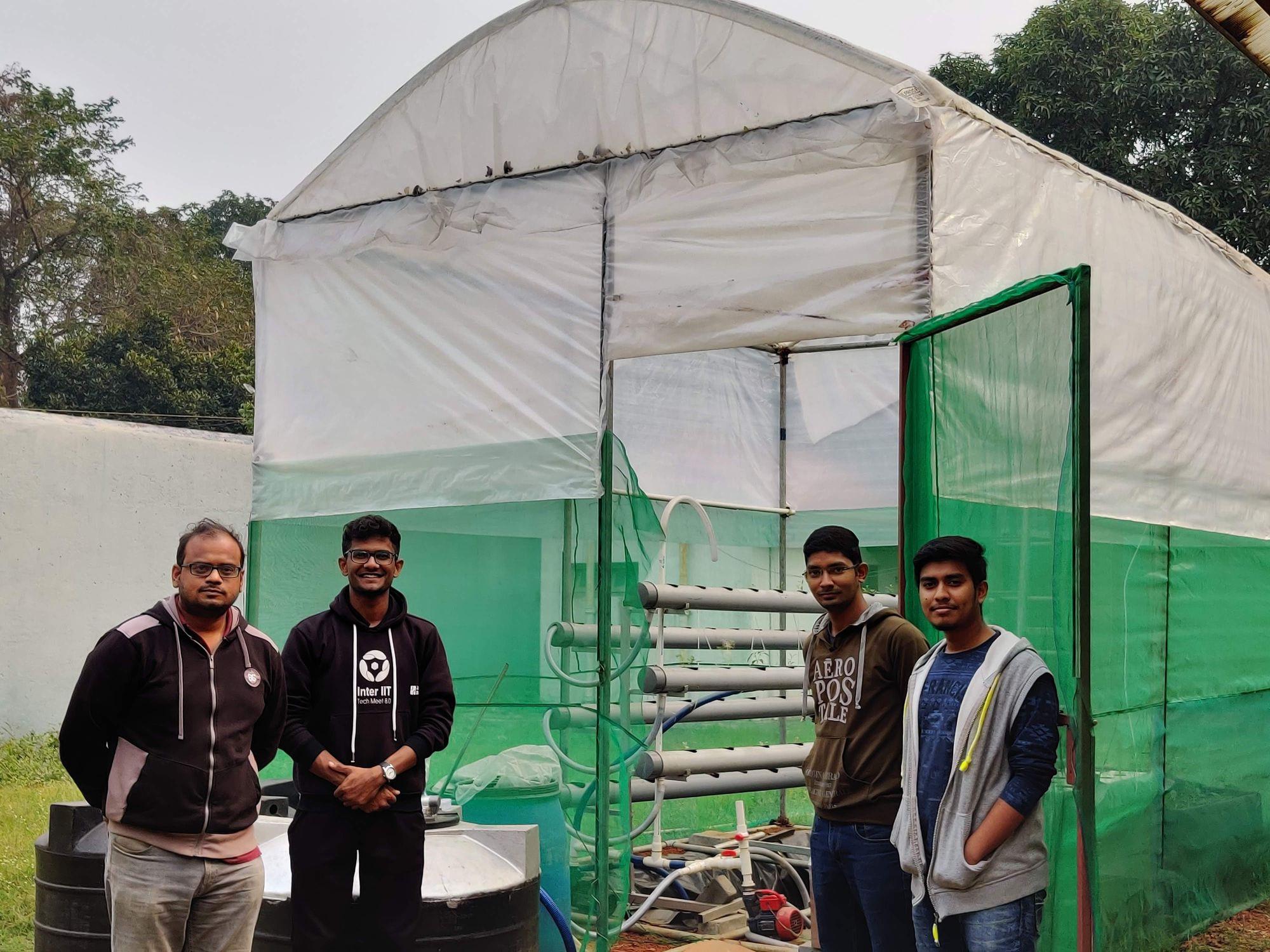 Prof. Aditya Bandopadhyay and team