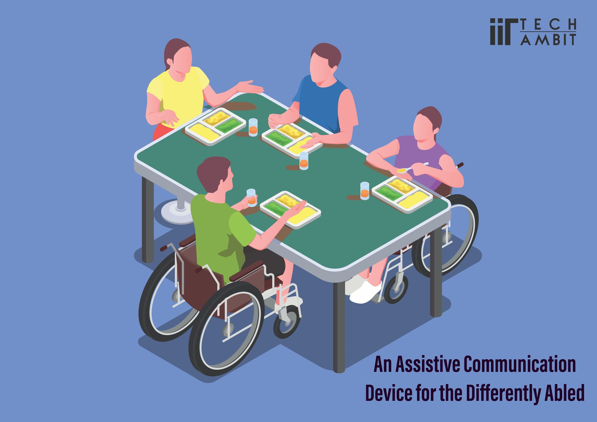 An Assistive Communication Device for the Differently Abled