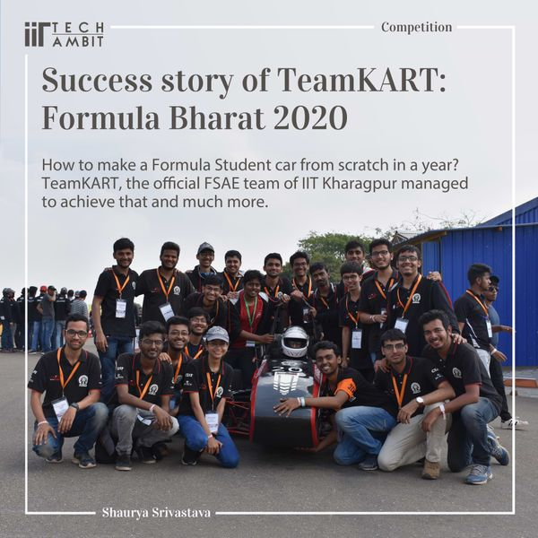 Success story of TeamKART: Formula Bharat 2020