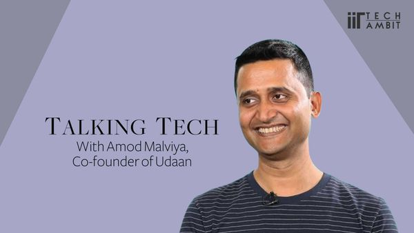 Talking Tech with Amod Malviya, Co-founder of Udaan